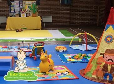 Baby Sensory Ayrshire North & East in Kilmarnock